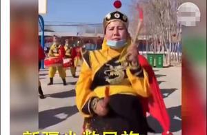 """反华媒体造谣""""强迫过年""""视频,系新疆民众弘扬民族文化活动"""