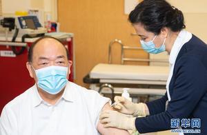 澳门启动接种国产新冠疫苗 贺一诚接种第一针