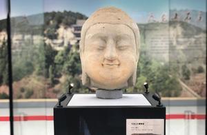 春节假期,来博物馆看天龙山石窟佛首