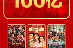 2021年中国电影总票房破百亿《你好,李焕英》排片占比首超《唐人街探案3》