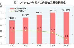 国家统计局:2020年全年国内生产总值101.6万亿元