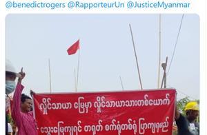 多家在缅中资工厂被烧,此前曾有英国NGO负责人发出相关威胁