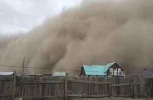 蒙古国遭遇特大沙尘暴,已致6人死亡80余人失踪