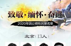 缅怀!2020年因公牺牲民警名单公布,湖南4人