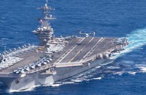 """美军""""罗斯福""""号航母打击群进入南海活动"""