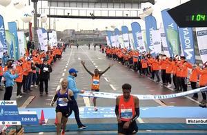 破纪录!64分02秒跑完半马,每公里只用3分02秒!网友:这速度我跑不了800米