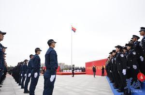 警察节   升警旗、唱国歌,首个中国人民警察节来了