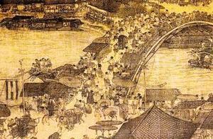 不可思议!《清明上河图》放大10倍现诡异景象,500年前穿越者?