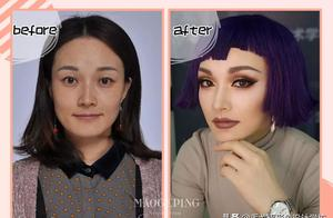 化妆前 VS 化妆后的差距居然这么大?这就是化妆的重要性