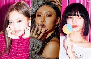 韩女团成员11月排名,粉墨金智妮榜首Lisa第三,柳智敏上榜