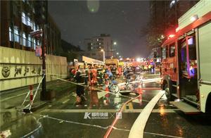 浙大玉泉校区北门塌陷,附近是施工中的地铁3号线