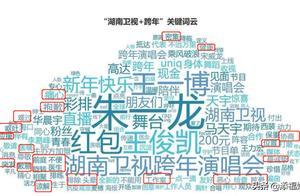 湖南跨年关键词已出,王俊凯人不在场,与他相关的词条最多,实火