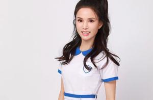 李若彤穿17岁时同款校服:你的身材,出卖了你的生活层次