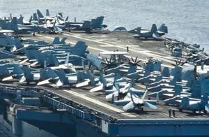 美航母战斗群进入南海,中国航母打击群也行动了