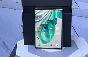 "OPPO终于找到那个""X"",可伸缩卷轴屏概念手机亮相"