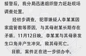 南京中学生弑母案:不满母亲说教,用菜刀将其杀害,换衣服住同学家一夜后自首