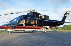 唐纳德·特朗普的S-76直升机正在出售