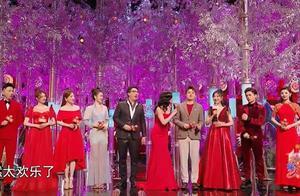 浙江春晚舞台审美显低俗,女团造型很大胆,主持人耍杂技