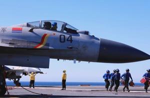 国产航母山东舰列装最新批次歼15战机 实力再跃新台阶