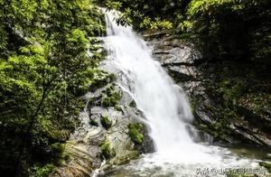 皖南山区最大的瀑布群,冰瀑奇观,安徽省东至县东至九天仙寓景区