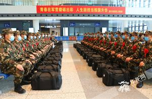 """参军离乡,他们深情告白:""""清澈的爱,只为中国"""""""