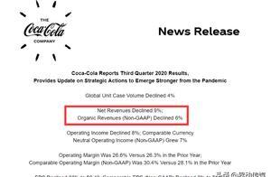 可口可乐三季度业绩出炉,收益较同期下降9%,市场前景不容乐观