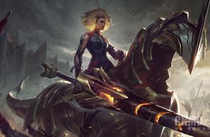 英雄联盟新英雄镕铁少女芮尔即将发布 骑马拿枪真飒