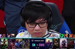 """S10决赛:凯南""""天雷""""伤害爆炸,DWG 2-1SN抢到赛点"""