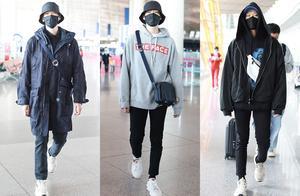 魏大勋秋季搭配风格,这5组造型青春潮流,没灵感可以照着穿