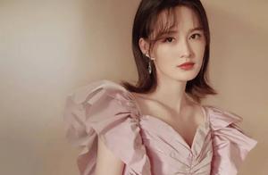 李沁香芋紫蝴蝶袖裙可爱上线