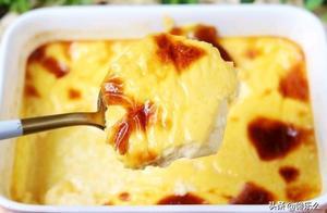 美食纪,嫩滑奶香布丁,口感细腻又爽滑