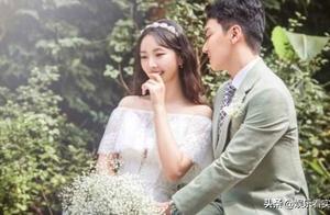 裴涩琪结婚婚纱照