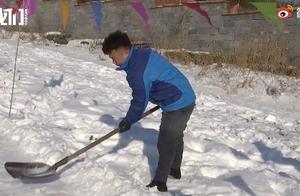 OMG!来看看别人家的爸爸--东北老爸亲手为女儿建滑雪场