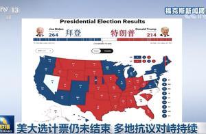 """连续4天,《新闻联播》这样报道""""美国大选"""""""