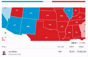 拜登赢乔治亚州就能入主白宫!目前开票99% 双方差1%