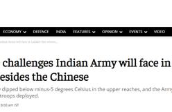 中印边境再生事,印军遭遇泥石流和雪崩,巡逻队全军覆没