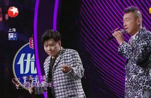 陈小春和张信哲组PK,两分之差,容祖儿很能唱,王源死盯提词器
