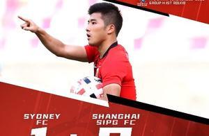 亚冠最新积分榜 上港胜悉尼升H组第2