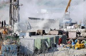 直击山东爆炸金矿救援现场:1人死亡1人失联,还有10人下落不明