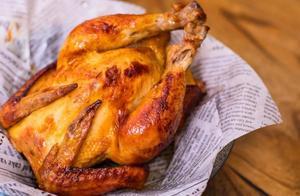 别出去排队了!巨香巨好吃的烤鸡在家就能做,超有圣诞内味儿