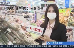 韩国大白菜价格猛涨,韩国主妇感叹:这不是吃白菜,是吃钻石啊