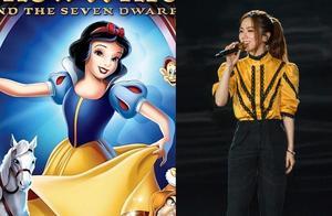 晚会造型,女明星争当迪士尼在逃公主,吉娜钟楚曦旗袍裙突出重围