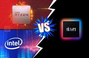 苹果M1芯片Cinbench R23跑分曝光,AMD有力对手
