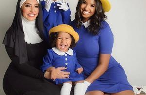 泪目!瓦妮莎晒万圣节装扮,去年还调侃科比帽子,如今却只剩4人