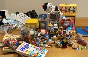 2020年东京跨年之旅,带回各种手办玩具,每次旅行的小确幸
