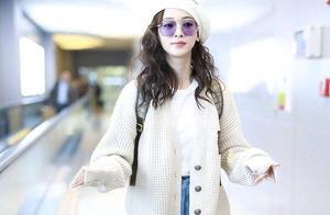 吴谨言用7套简单私服Look,教你如何在初春穿出气质女神范!