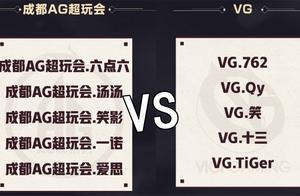AG对战VG恐怕要翻车,QG若输给E星,五人首发估计不保