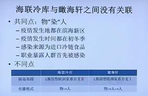 """天津""""福尔摩斯"""":海联冷库疫情与瞰海轩疫情之间没有关联"""