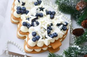 圣诞蛋糕创意集锦——你想要的都在这,快来大显身手吧