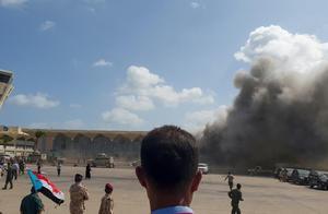 也门哈迪新政府刚成立,亚丁机场发生剧烈爆炸,胡塞武装否认指控